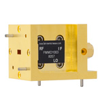 WR-19 Waveguide Down Converter Mixer From 40 GHz to 60 GHz, With an IF Range From DC to 18 GHz And LO Power of +13 dBm, UG-383/U Flange