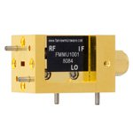WR-12 Waveguide Up Converter Mixer From 60 GHz to 90 GHz, With an IF Range From DC to 18 GHz And LO Power of +13 dBm, UG-387/U Flange