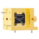 WR-19 Waveguide Up Converter Mixer From 40 GHz to 60 GHz, With an IF Range From DC to 18 GHz And LO Power of +13 dBm, UG-383/U Flange
