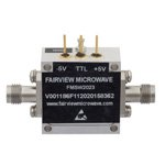 1.85mm SPST PIN Diode Switch From 50 MHz to 67 GHz Rated at +27 dBm