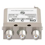 SPDT Failsafe DC to 26.5 GHz Electro-Mechanical Relay Switch, 20W, 12V, SMA