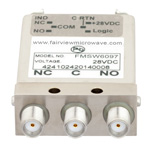 SPDT Failsafe DC to 26.5 GHz Electro-Mechanical Relay Switch, TTL, Diodes, Indicators, 20W, 28V, SMA
