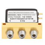SPDT Failsafe DC to 40 GHz Electro-Mechanical Relay Switch, 10W, 12V, 2.92mm