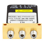 SPDT Failsafe DC to 40 GHz Electro-Mechanical Relay Switch, Indicators, TTL, Diodes, 10W, 28V, 2.92mm