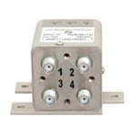 Transfer Latching DC to 26.5 GHz Electro-Mechanical Relay Switch, Self Cut Off, Diodes, 20W, 28V, SMA