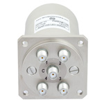 SP4T NO DC to 22 GHz Electro-Mechanical Relay Switch, Indicators, TTL, Diodes, 20W, 12V, SMA
