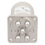 SP4T NO DC to 22 GHz Electro-Mechanical Relay Switch, Indicators, TTL, Diodes, 20W, 28V, SMA