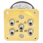 SP4T NO DC to 40 GHz Electro-Mechanical Relay Switch, 3W, 12V, 2.92mm