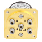 SP4T NO DC to 40 GHz Electro-Mechanical Relay Switch, 3W, 28V, 2.92mm