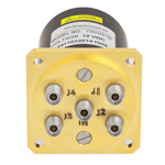 SP4T NO DC to 40 GHz Electro-Mechanical Relay Switch, Indicators, TTL, Diodes, 3W, 12V, 2.92mm
