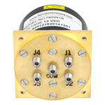 SP4T Latching DC to 40 GHz Electro-Mechanical Relay Switch, Self Cut Off, Reset, Diodes, 3W, 12V, 2.92mm