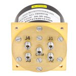 SP4T Latching DC to 40 GHz Electro-Mechanical Relay Switch, Self Cut Off, Reset, Diodes, 3W, 28V, 2.92mm