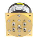 SP4T Latching DC to 40 GHz Electro-Mechanical Relay Switch, Indicators, TTL, Self Cut Off, Diodes, up to 18W, 28V, 2.92mm