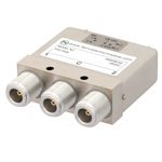 SPDT Latching DC to 12.4 GHz Electro-Mechanical Relay Switch, Indicators, TTL, Diodes, Self Cut Off, 160W, 28V, N
