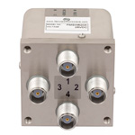 Transfer Failsafe DC to 12.4 GHz Electro-Mechanical Relay Switch, Indicators, TTL, Diodes, 50W, 28V, TNC