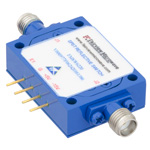 Field Replaceable SMA SPST PIN Diode Switch From 500 MHz to 18 GHz Rated at +20 dBm