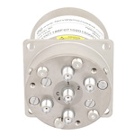SP4T NO DC to 22 GHz Terminated Electro-Mechanical Relay Switch, Indicators, TTL, 20W, 28V, SMA