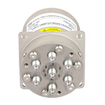 SP6T NO DC to 22 GHz Terminated Electro-Mechanical Relay Switch, Indicators, TTL, Diodes, 20W, 28V, SMA