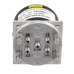 SP4T Latching DC to 40 GHz Terminated Electro-Mechanical Relay Switch, Self Cut Off, Diodes, Reset, 3W, 12V, 2.92mm