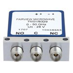 SPDT Failsafe DC to 50 GHz Electro-Mechanical Relay Switch, up to 80W, 28V, 2.4mm