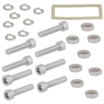 WR-90 Electrically Conductive Waveguide Gasket kit for CPR Flat Flange