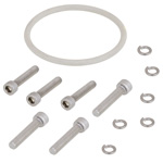 WR-137 Electrically Conductive Waveguide Gasket kit for Round Cover to Choke Flange