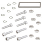 WR-137 Electrically Conductive Waveguide Gasket kit for CPR Grooved Flange