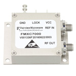 500 MHz Phase Locked Oscillator, 10 MHz External Ref., Phase Noise -110 dBc/Hz and SMA