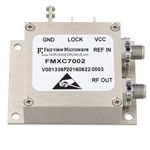 2 GHz Phase Locked Oscillator, 10 MHz External Ref., Phase Noise -100 dBc/Hz and SMA