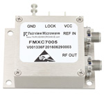 500 MHz Phase Locked Oscillator, 100 MHz External Ref., Phase Noise -110 dBc/Hz and SMA