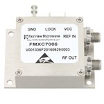 1 GHz Phase Locked Oscillator, 100 MHz External Ref., Phase Noise -110 dBc/Hz and SMA