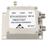 2 GHz Phase Locked Oscillator, 100 MHz External Ref., Phase Noise -110 dBc/Hz and SMA