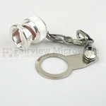 BNC Male Open Circuit Connector Cap With 2.7 Inch Chain