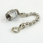 SMA Male Open Circuit Connector Cap With 2.25 Inch Chain