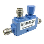 1.85mm Directional Coupler 20 dB Coupled Port From 6 GHz to 60 GHz Rated To 20 Watts