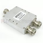 2 Way Power Divider N Connectors From 800 MHz to 3.5 GHz Rated at 3 Watts