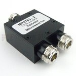 2 Way Power Divider N Connectors From 1 GHz to 2 GHz Rated at 30 Watts