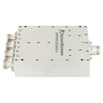 4 Way High Power Broadband Combiner N Connectors From 800 MHz to 2.5 GHz Rated at 600 Watts