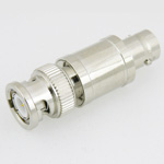 5 dB Fixed Attenuator BNC Male To BNC Female Up To 3 GHz Rated To 2 Watts With Brass Nickel Body