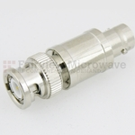 20 dB Fixed Attenuator BNC Male To BNC Female Up To 3 GHz Rated To 2 Watts With Brass Nickel Body