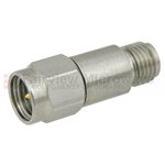 24 dB Fixed Attenuator SMA Male To SMA Female Up To 18 GHz Rated To 2 Watts With Passivated Stainless Steel Body