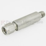 60 dB Fixed Attenuator SMA Male To SMA Female Up To 18 GHz Rated To 2 Watts With Passivated Stainless Steel Body