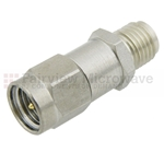 4 dB Fixed Attenuator SMA Male To SMA Female Up To 8 GHz Rated To 2 Watts With Passivated Stainless Steel Body