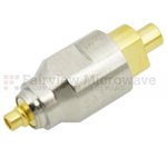 3 dB Fixed Attenuator MMCX Plug To MMCX Jack Up To 6 GHz Rated To 2 Watts With Brass Nickel Body