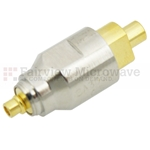 10 dB Fixed Attenuator MMCX Plug To MMCX Jack Up To 6 GHz Rated To 2 Watts With Brass Nickel Body