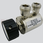 0.5 to 10 dB Step Attenuator With a 1 dB Step N Female Connectors Rated Up To 3 GHz and Up to 2 Watts in a Dial Design