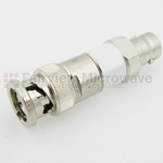 4 dB Fixed Attenuator 75 Ohm BNC Male To 75 Ohm BNC Female Up To 3 GHz Rated To 2 Watts