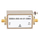 2 GHz to 6 GHz, 44 dB Gain Broadband High Gain Amplifier with 1 Watt and SMA