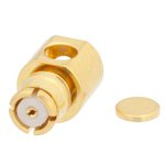 RA SMP Female Connector Solder Attachment For RG405 Cable Up To 8 GHz
