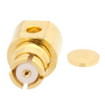 RA SMP Female Connector Solder Attachment For .047 SR Cable Up To 8 GHz